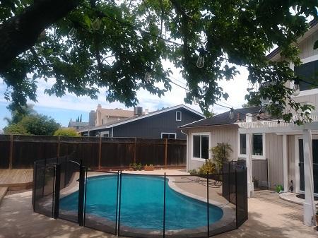 removable pool fence San Ramon, CA