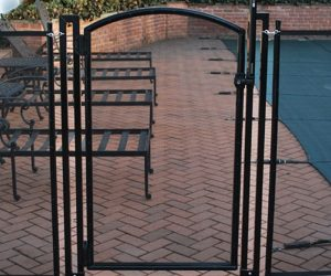 Life Saver Pool Fence Safety Gate - Arched Style
