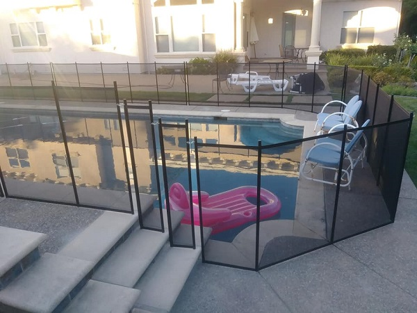 custom pool fence installation