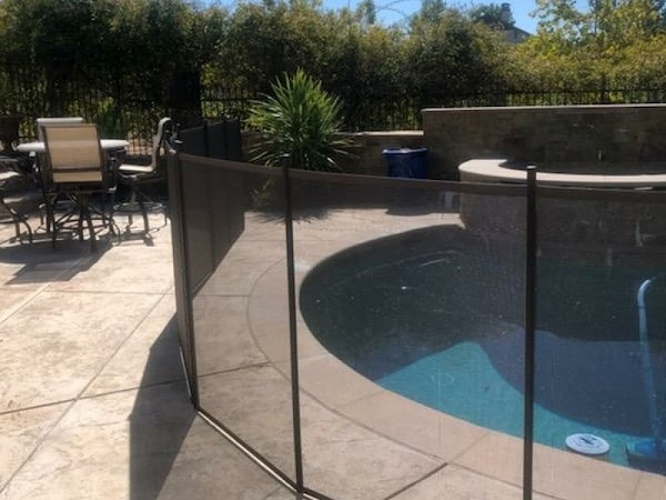 Pleasanton, CA pool fence installation