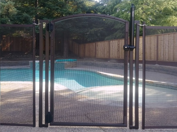 pool fence gate installed in Concord, CA