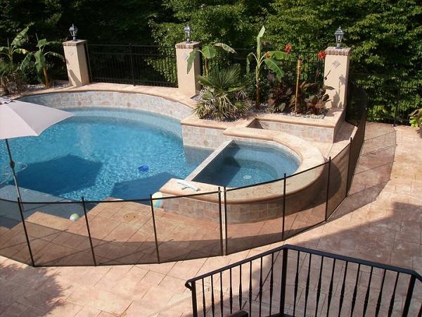 pool safety fence installer Sacramento, CA