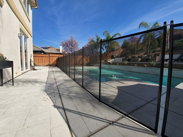 Brentwood pool fence installation