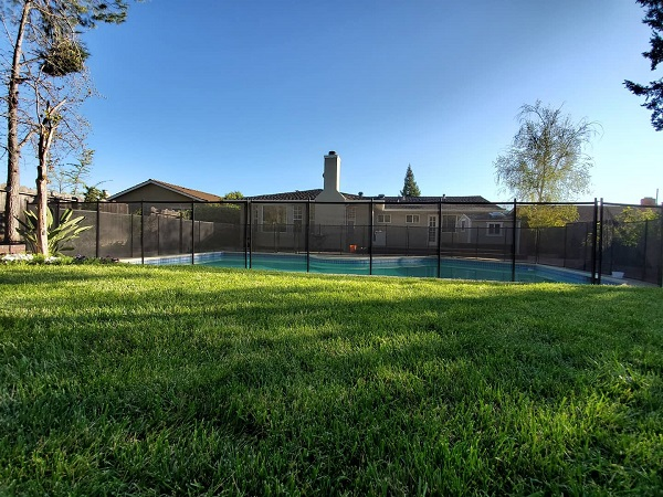 mesh pool fence Pleasanton, CA