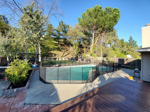pool fence installation Pleasanton, CA