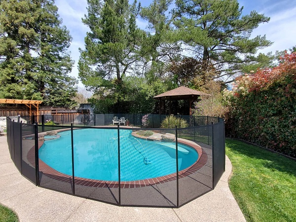 life saver pool fence installed in San Ramon, CA