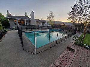 mesh pool fence Alamo, CA