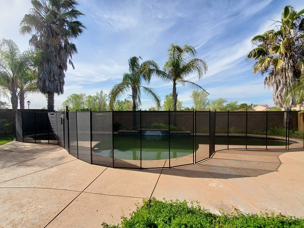 child pool safety fence installed in Pleasanton, CA