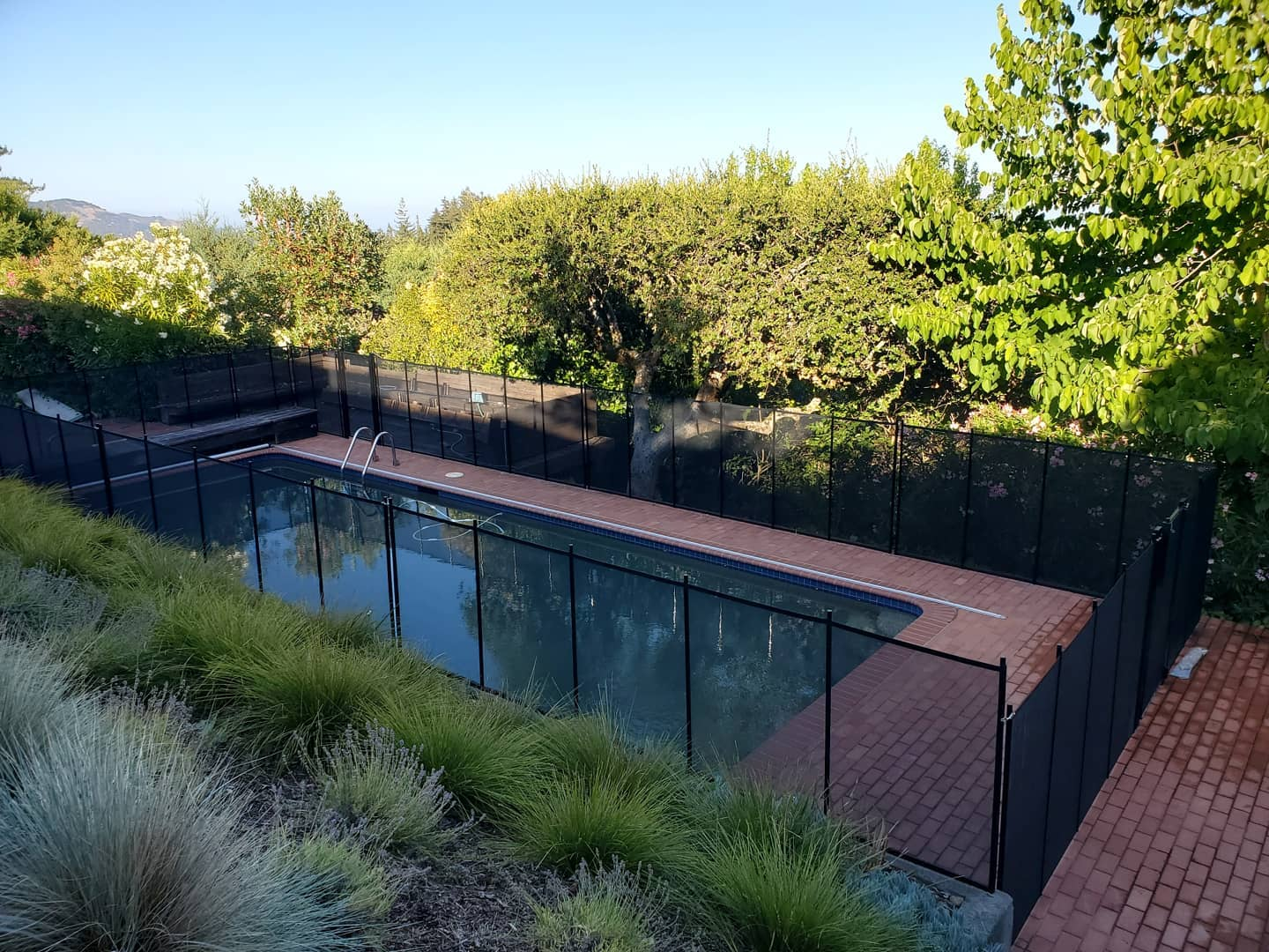 child pool safety fence installed in Diablo, CA