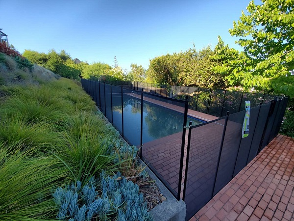 Kentfield, CA pool fence installation