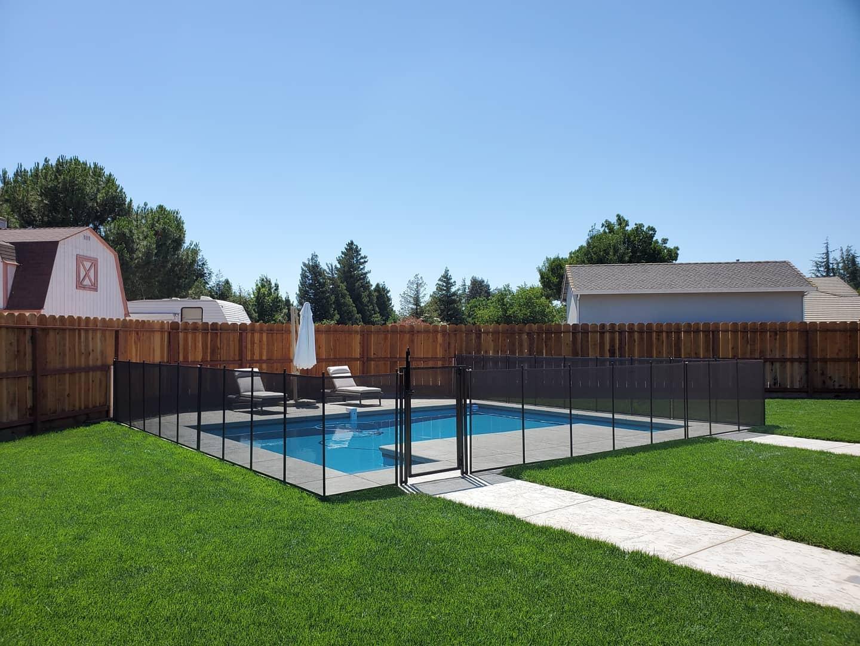 mehs pool fence installed in Diablo, CA