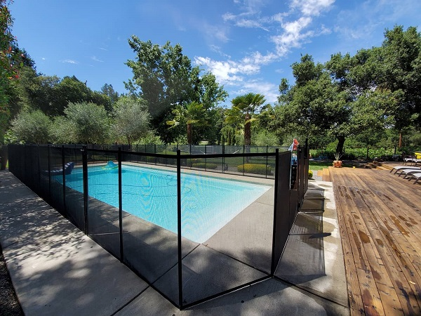 pool fence installation Santa Rosa, CA