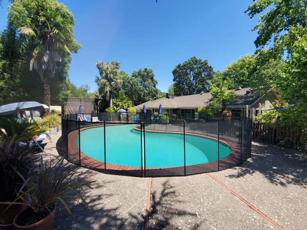 kids pool fence installed in Sonoma, CA
