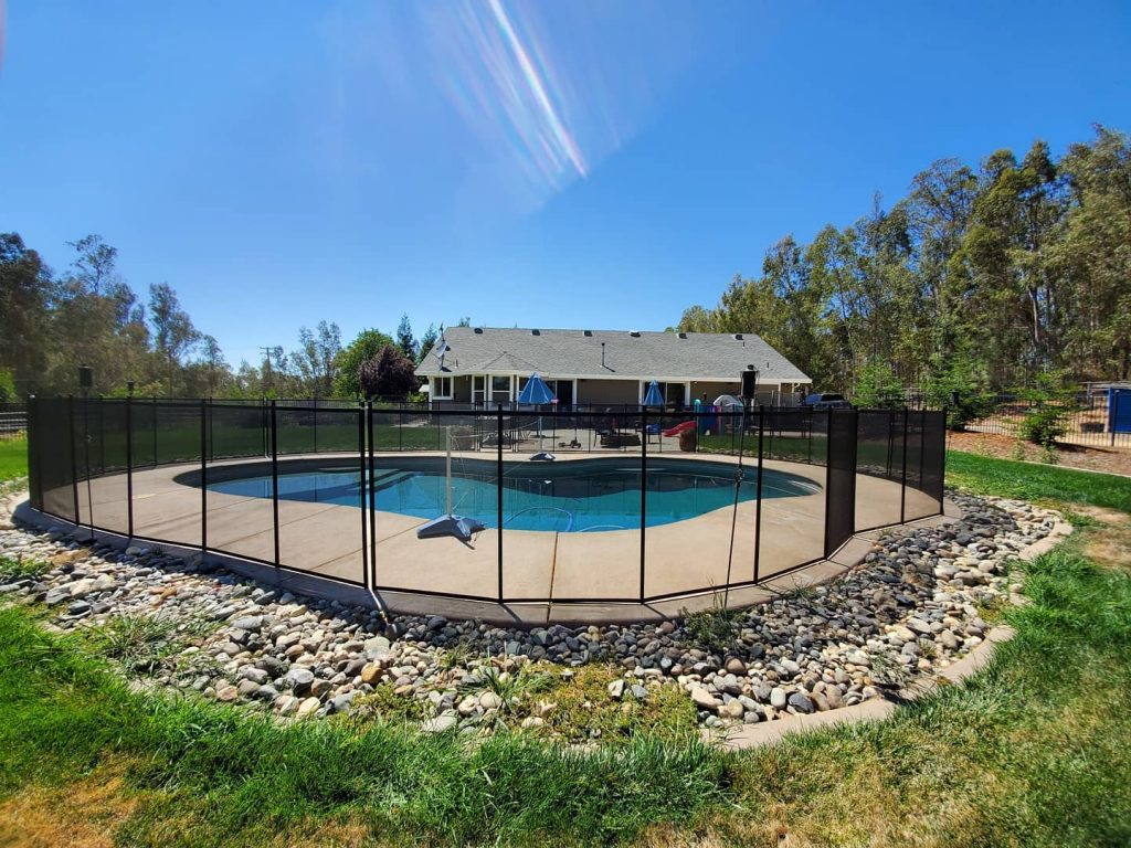 Life Saver Pool Fence installer in Herald, CA