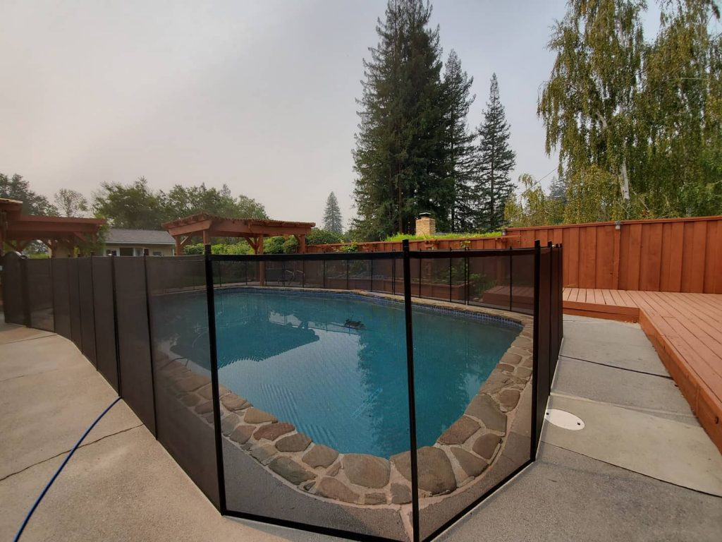 Life Saver Pool Fence installations in Lafayette, CA