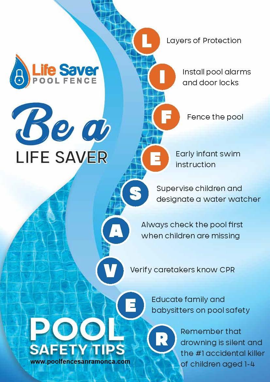 7 Layers of Protection - Life Saver Pool Fence of San Ramon CA