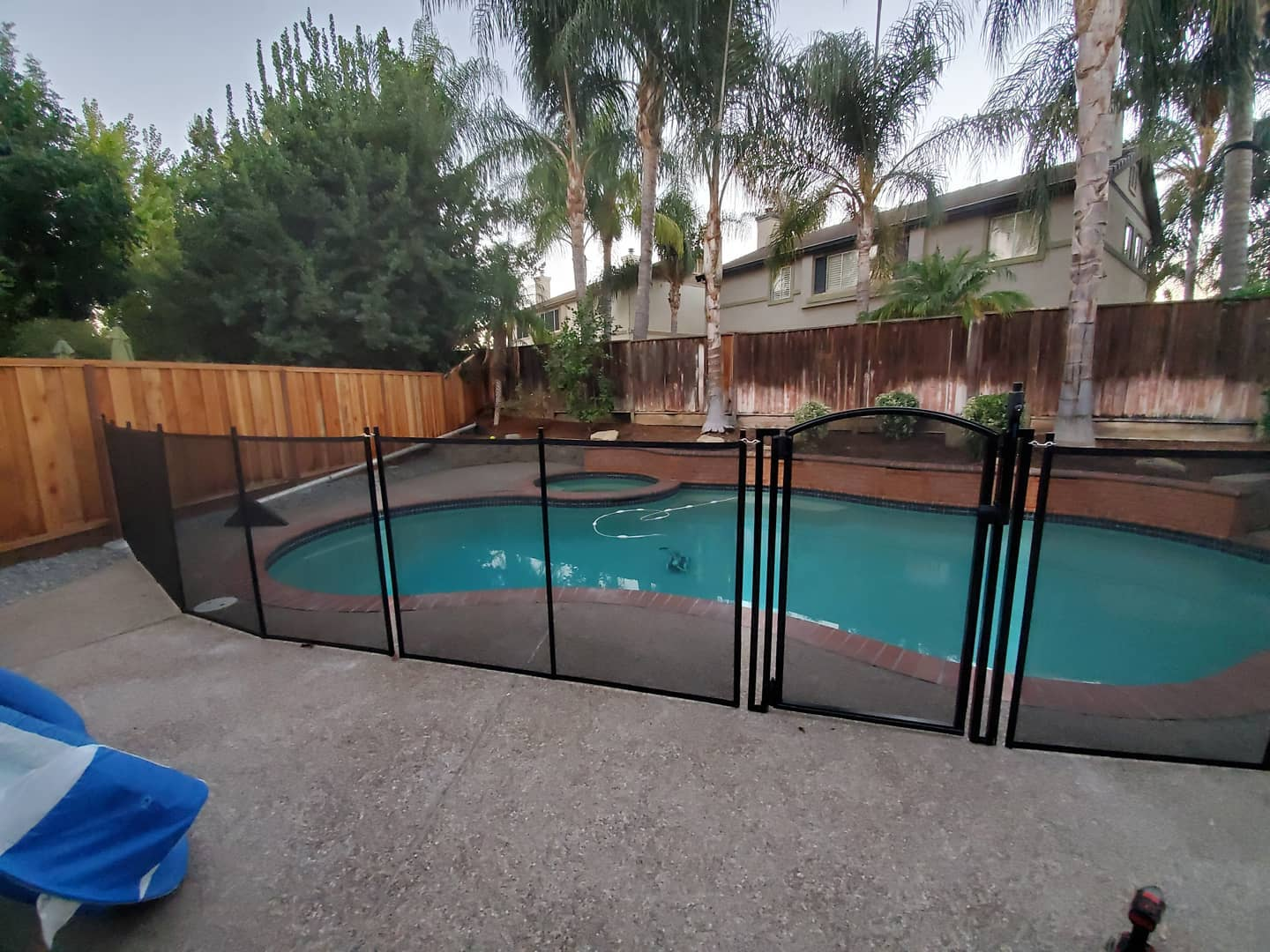 life saver pool fence installed brentwood ca