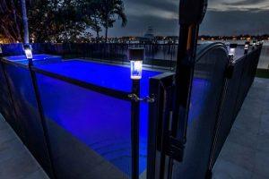 Life Saver Pool Fence Solar Lights