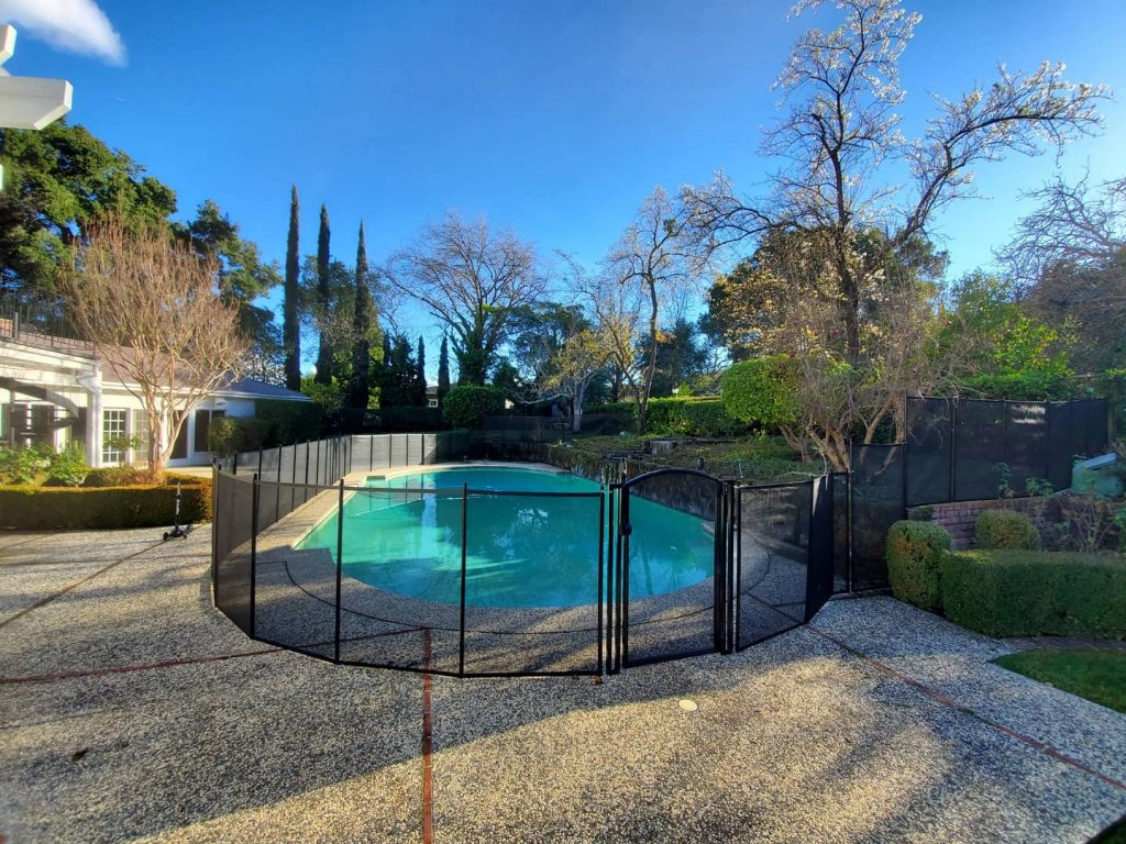 kids safety pool fence installed in Castlewood, CA