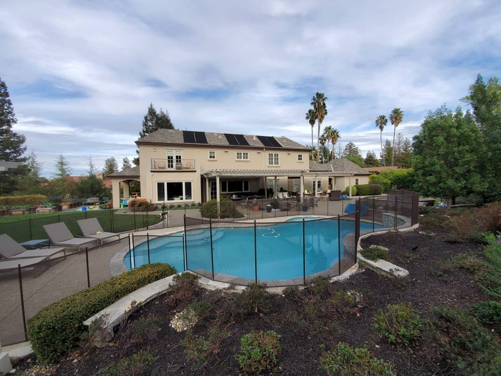 mesh fence for pools in Walnut Creek, CA