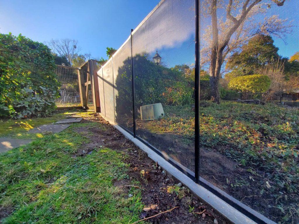 mesh pool fence Castlewood, CA