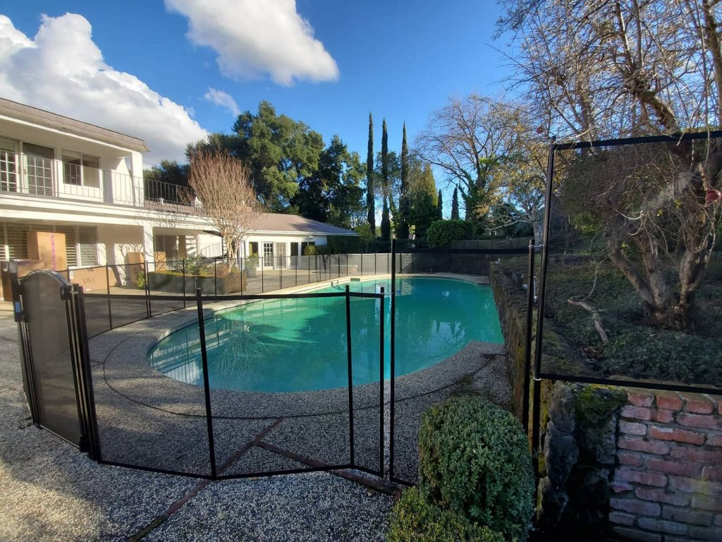 pool fence installed in Castlewood, CA by Life Saver Pool Fence San Ramon