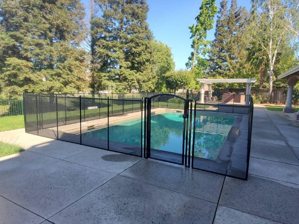 pool fence Stockton