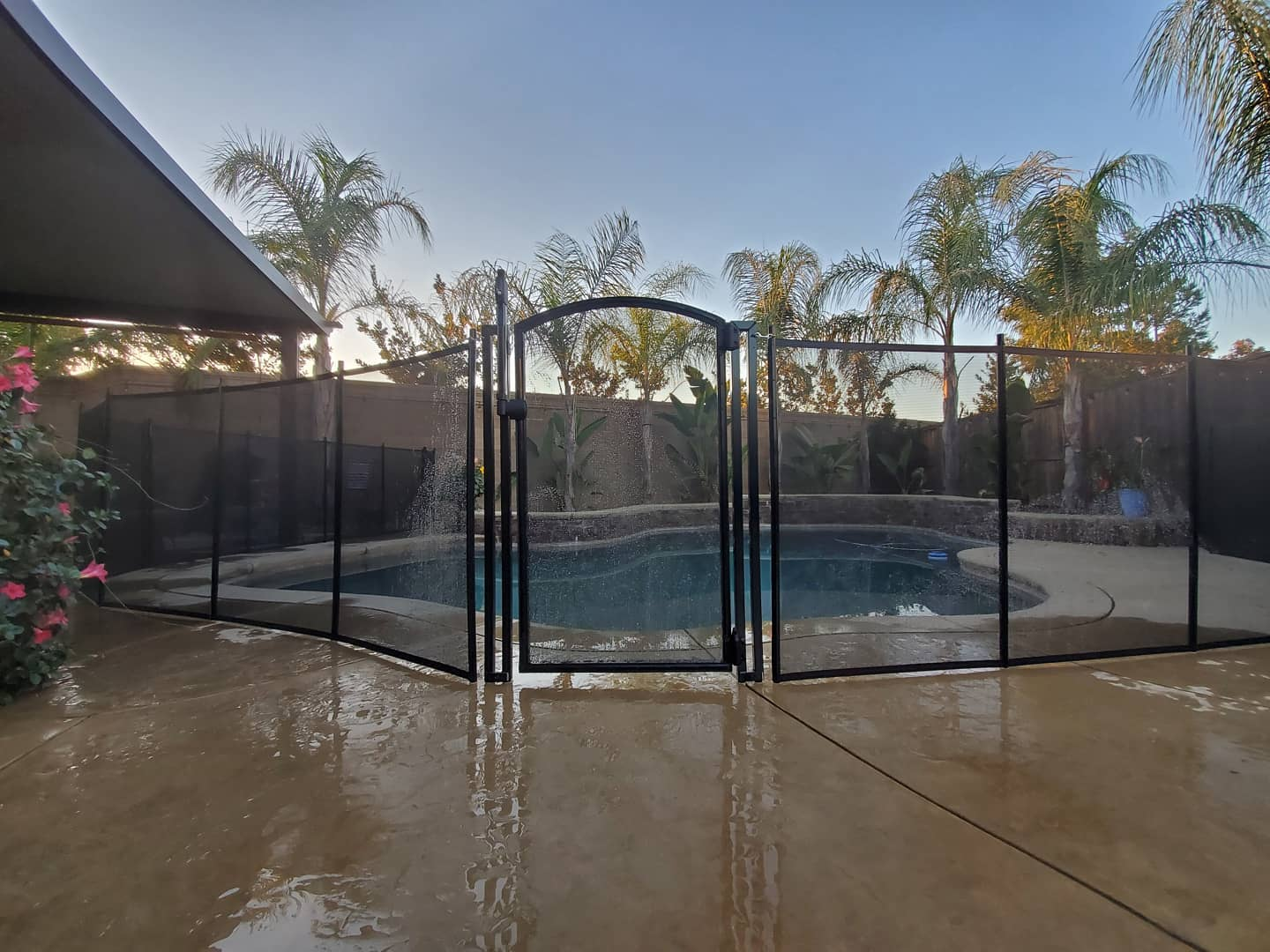 Life Saver Pool Fence installed in Livermore, CA