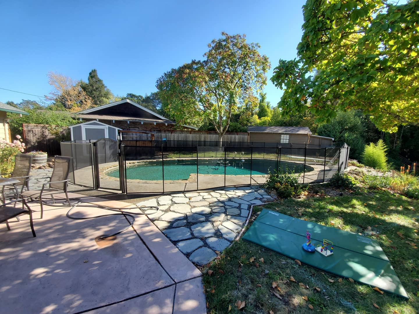 removable mesh pool fence Livermore, CA