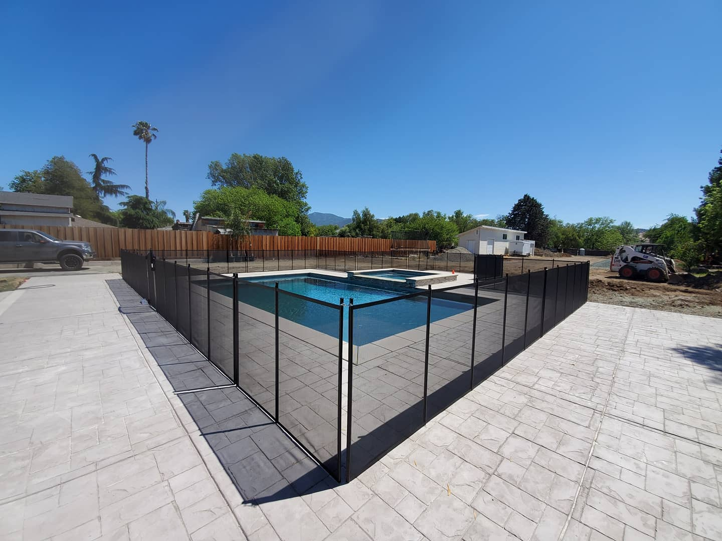 pool safety fence installed in Discovery Bay, CA